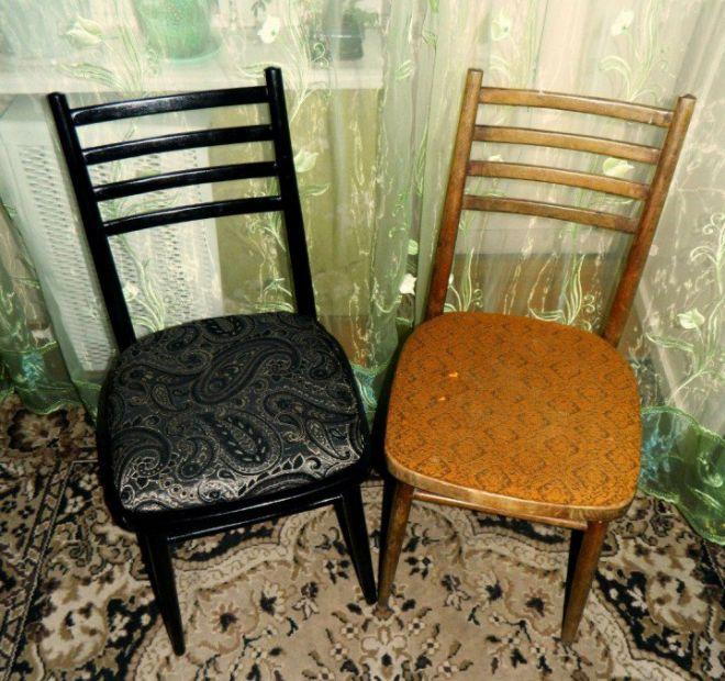 Как покрасить старый стул