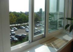 Как снять раздвижные балконные окна?