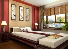 Создаем спальню в японском стиле