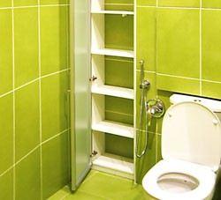 Сантехнический шкаф в туалете за унитазом своими руками и фото вариантов