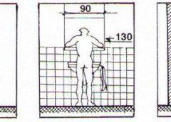 Планировка санузла и правила размещения сантехнических приборов