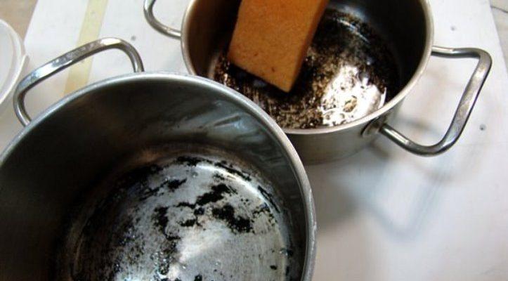 Как очистить пригоревшую кастрюлю: топ-10 способов чистки застаревшего нагара