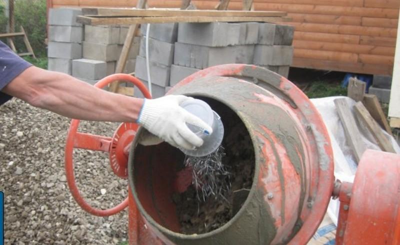 Как приготовить фибру для бетона